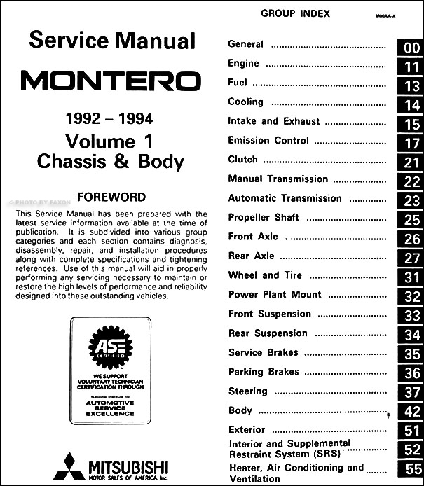 1992-1994 Mitsubishi Montero Repair Shop Manual Set Original on mitsubishi montero headlight, mitsubishi montero door diagram, mitsubishi montero repair manual, mitsubishi montero dash lights, mitsubishi montero special tools, mitsubishi montero radio, mitsubishi evolution 8 wiring diagram, mitsubishi ignition wiring diagram, mitsubishi montero fuse diagram, mitsubishi mighty max wiring diagram, mitsubishi montero body, mitsubishi eclipse wiring diagram, mitsubishi endeavor wiring diagram, mitsubishi magna wiring diagram, mitsubishi montero firing order, mitsubishi montero brakes, mitsubishi montero cooling system, mitsubishi starion wiring diagram, mitsubishi montoya wiring diagram, mitsubishi montero starter,