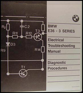 1991-1992 BMW 318is 325i Electrical Troubleshooting Manual