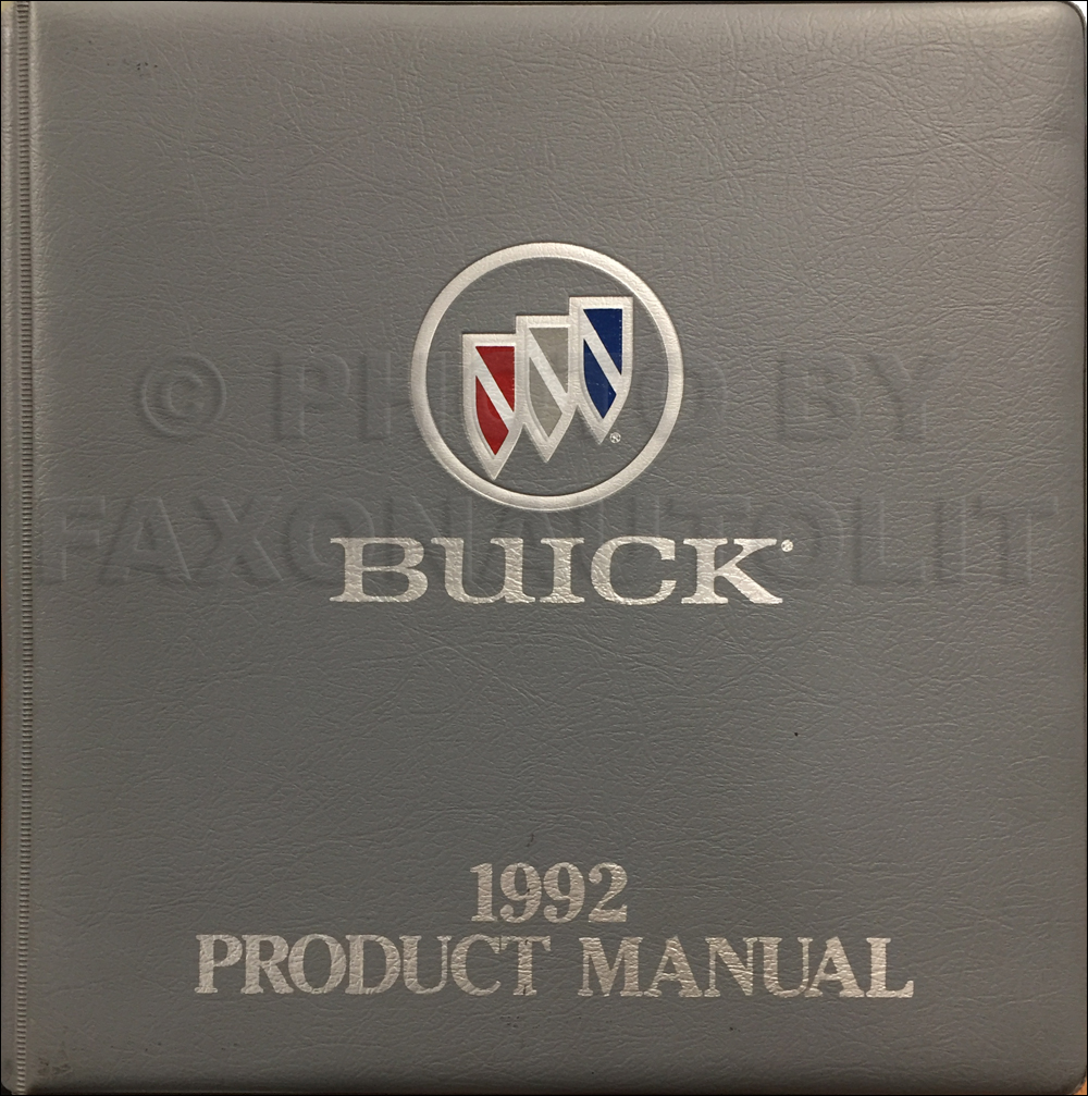 1992 Buick Park Avenue And Ultra Electrical Troubleshooting Manual
