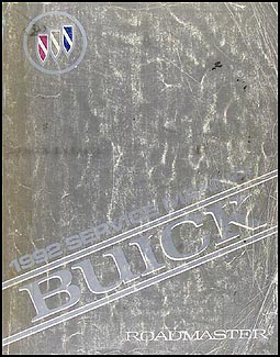 1992 Buick Roadmaster Shop Manual Original