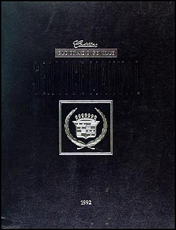1992 Cadillac Eldorado and Seville Repair Manual Original