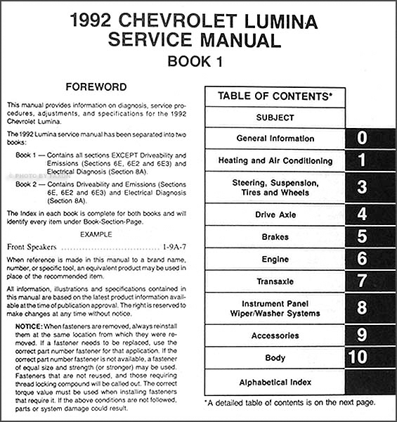 Chevy Lumina Wiring Diagram - Wiring Diagram