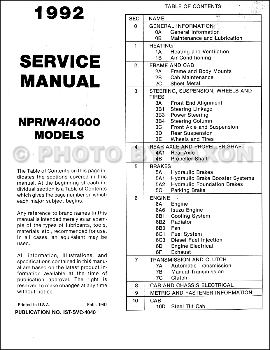 Pleasant 1992 Isuzu Engine Diagrams Online Wiring Diagram Wiring 101 Photwellnesstrialsorg