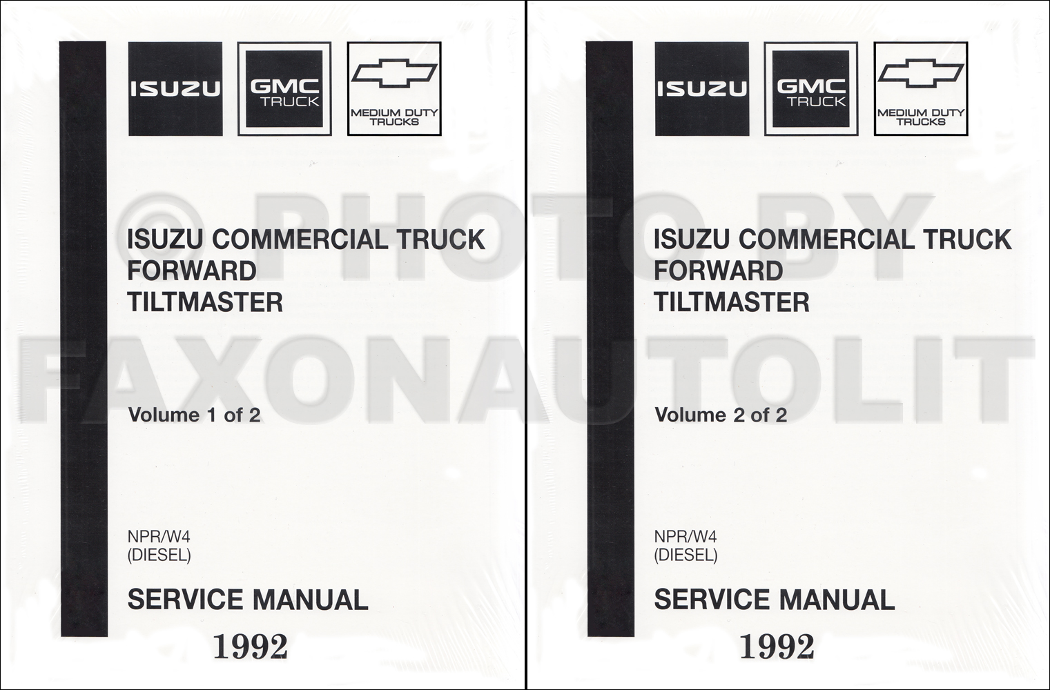 1993 NPR & W4 Gas Repair Manual Original