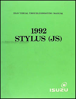 1992 Isuzu Stylus Electrical Troubleshooting Manual Original