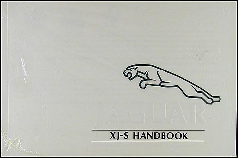 1992 Jaguar XJS Owner's Manual Original