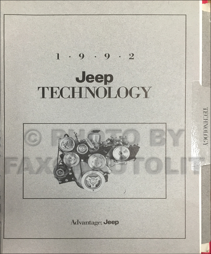 1992 Jeep/Eagle Color & Upholstery Album and Data Book Original