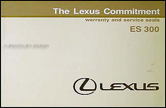 1992 Lexus Australian Warranty, Maintenance Record and General Info