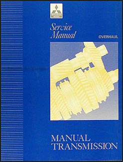 1992 Mitsubishi Manual Transmission Overhaul Manual Original