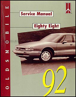 1992 Oldsmobile Eighty-Eight 88 Shop Manual Original Royale & LS