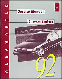 1992 Oldsmobile Custom Cruiser Repair Manual Original