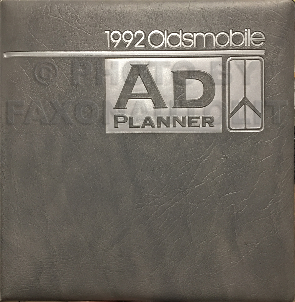 1992 Oldsmobile Dealer Advertising Planner Original
