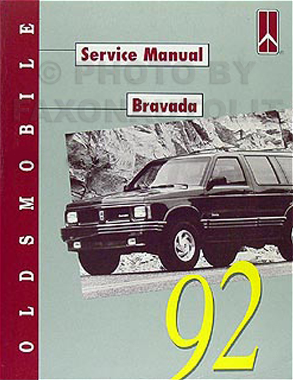 1992 Oldsmobile Bravada Repair Manual Original