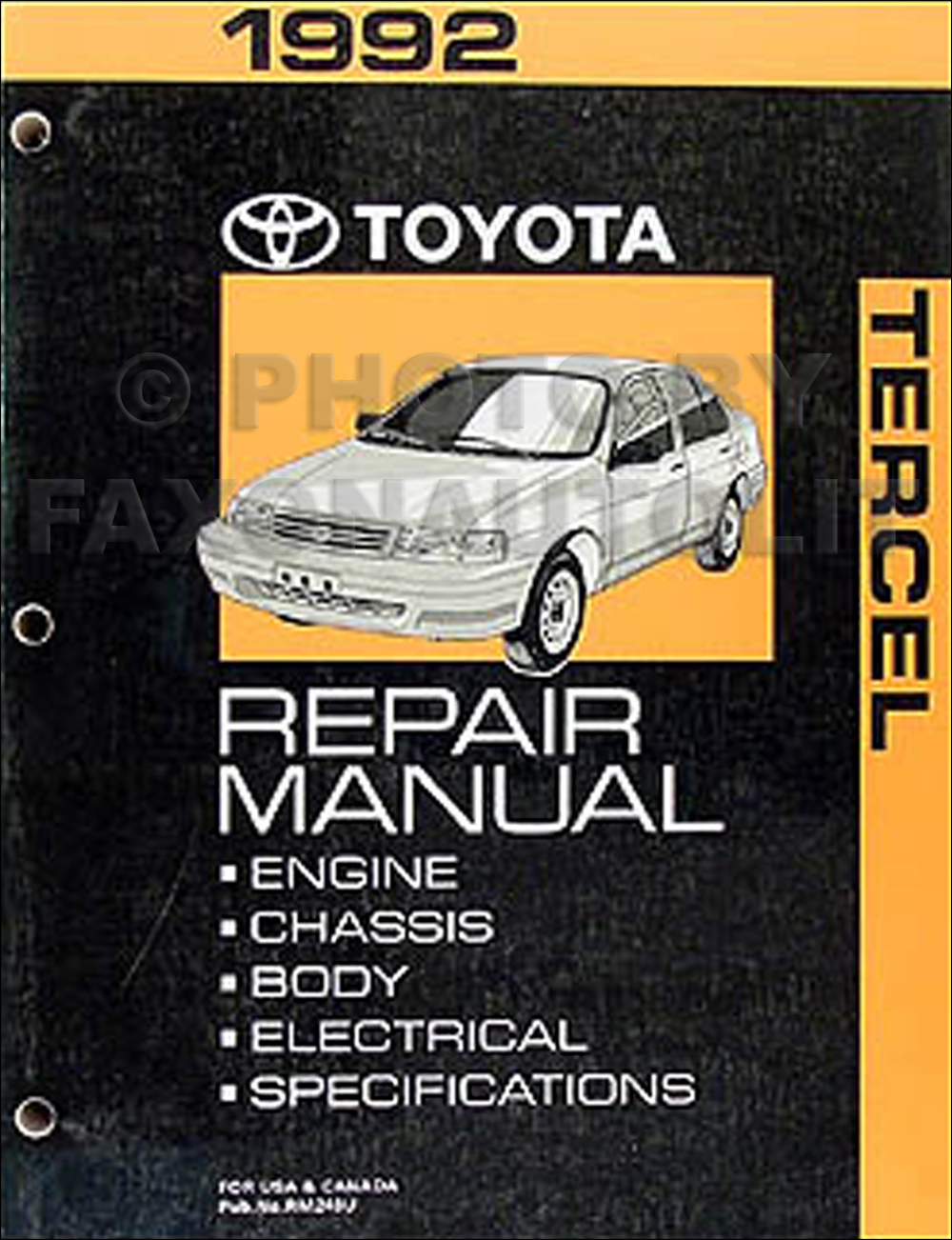 92 Tercel Engine Diagram | Wiring Liry on