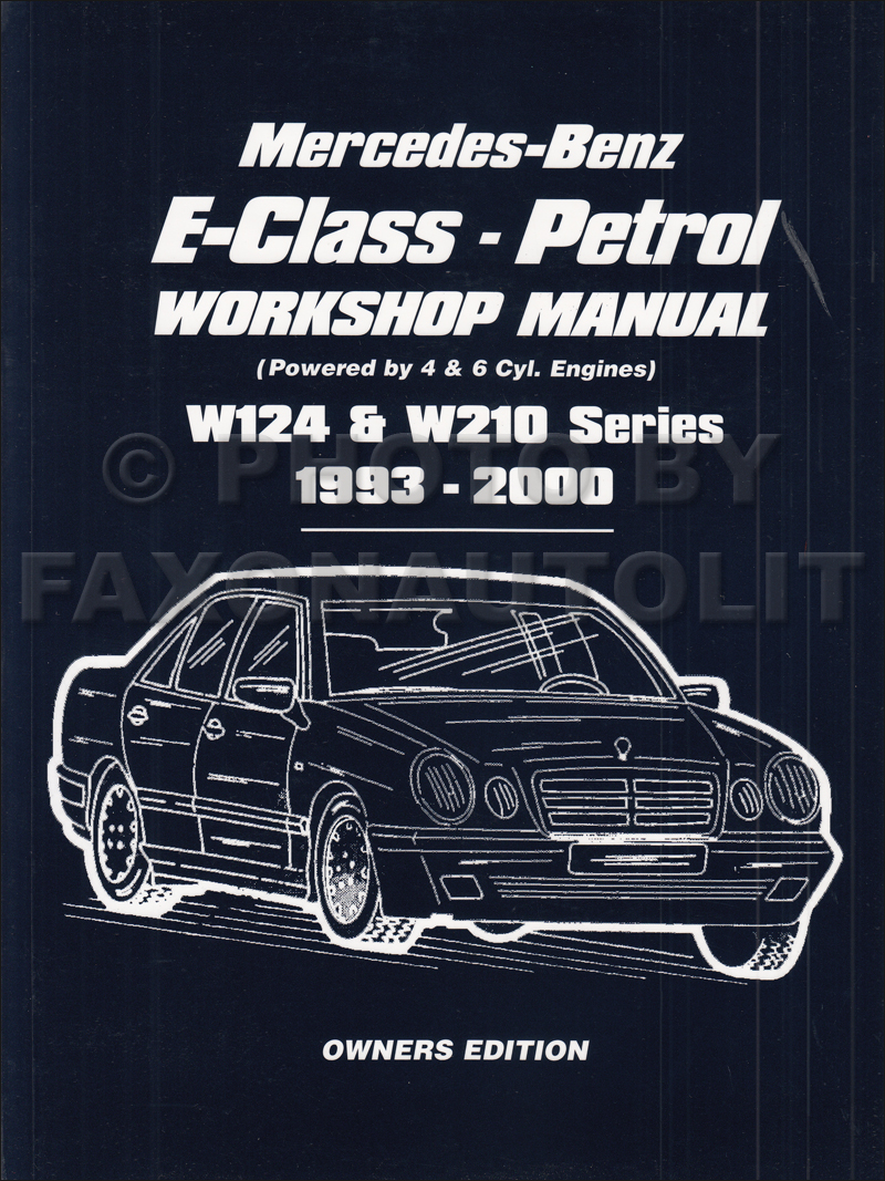 1985 1995 Mercedes E Class W124 Owners Workshop Manual Worldwide Not Us Ac Wiring Diagram 230e 1986 Circuit And