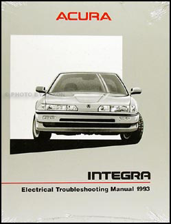 1993 Acura Integra Electrical Troubleshooting Manual Original
