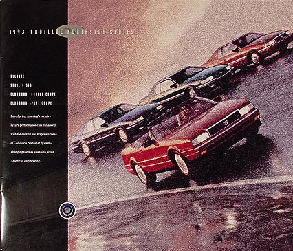 1993 Cadillac Northstar Series Sales Catalog Original