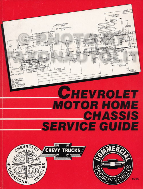 1993 Chevrolet P Motorhome  U0026 Forward Control Repair Shop Manual Original P3 P30