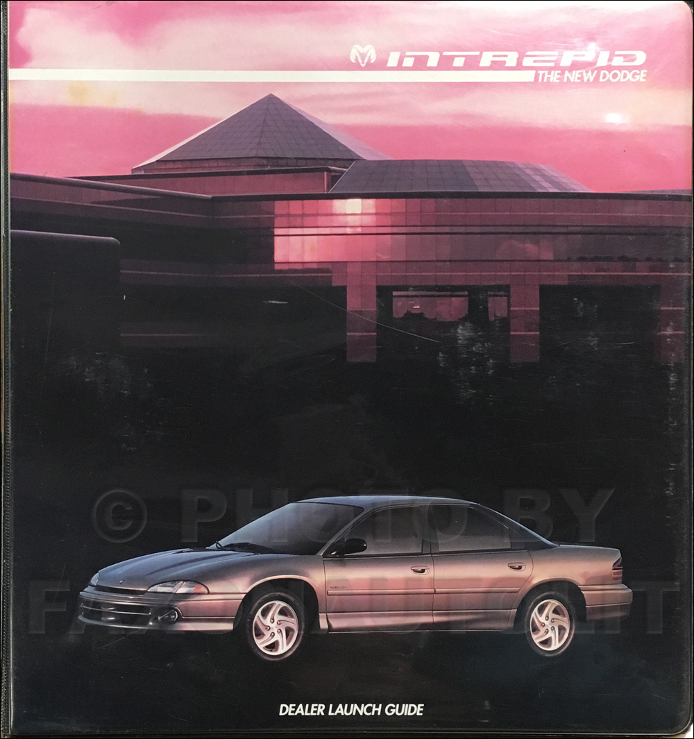 1993 Dodge Intrepid Dealer Launch Album Original