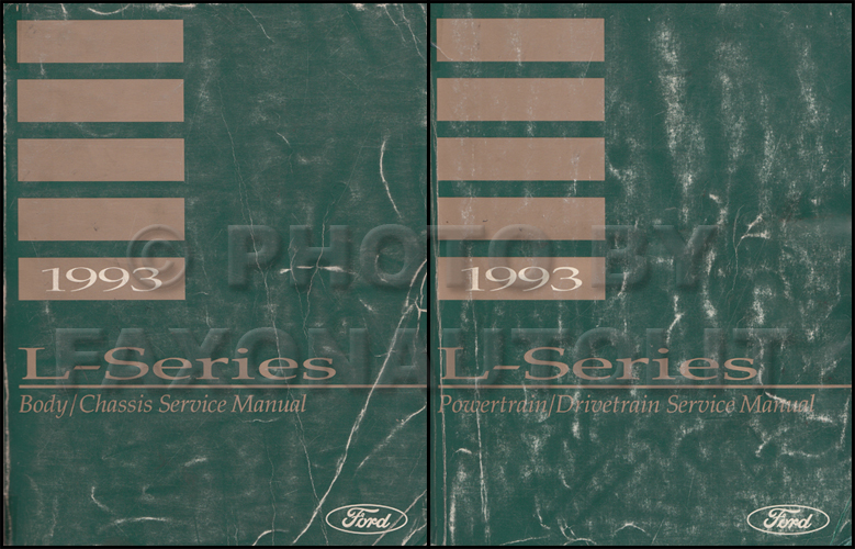 1993 Ford L-Series 7000-9000 Truck Repair Shop Manual Original