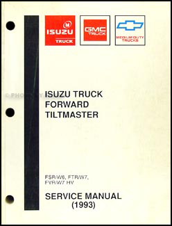 1993 FSR, W6, FTR, W7, FVR Repair Manual Original
