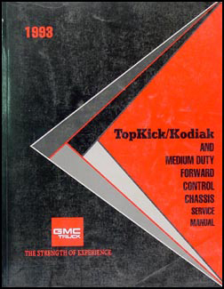 1993 Topkick/Kodiak, & P6 Repair Manual Original