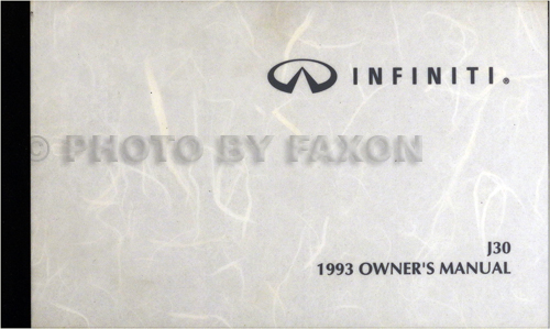1990-1992 Infiniti M30 Body Repair Manual Original