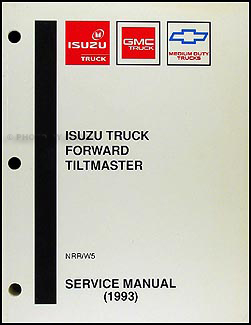 1993 NRR & W5 Forward Truck Repair Manual