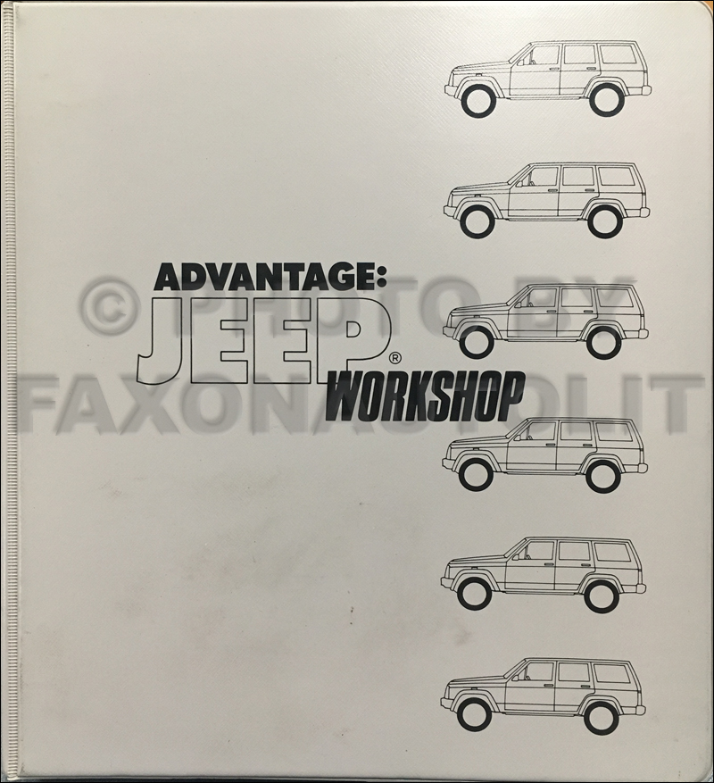 1993 Jeep Sales Training Manual Original
