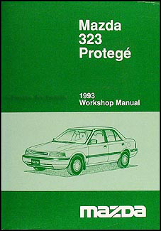 1993 Mazda 323 Repair Manual Original