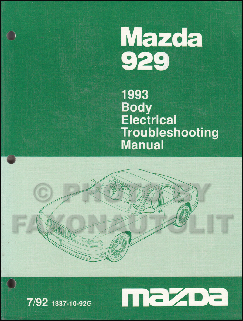 1994 Mazda Pickup Truck Repair Manual Original B2300 B3000 B4000
