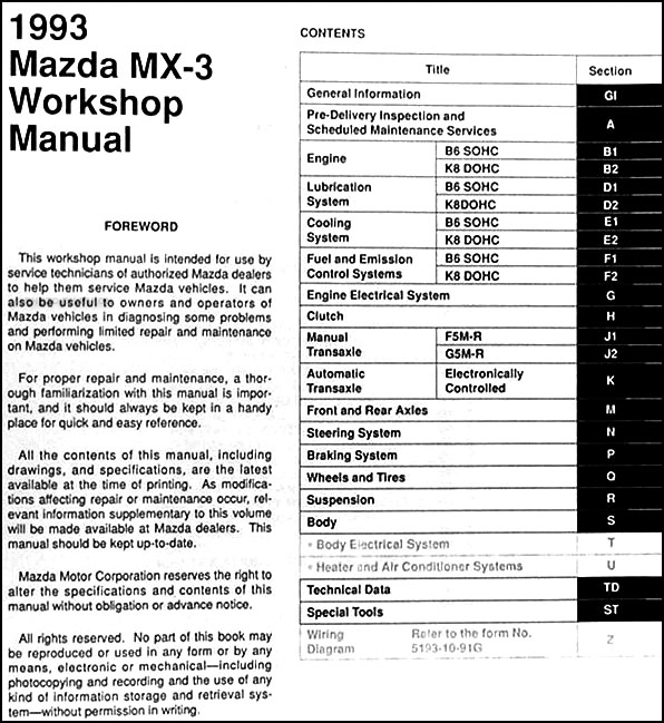mazda b2300 fuse box diagram wiring schematic