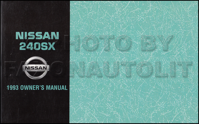 1993 Nissan 240sx Wiring Diagram Manual Original