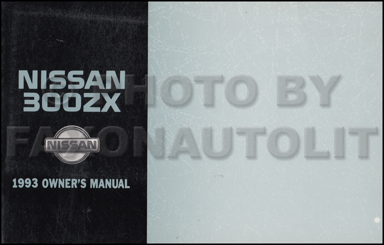 1993 Nissan 300zx Wiring Diagram Manual Original