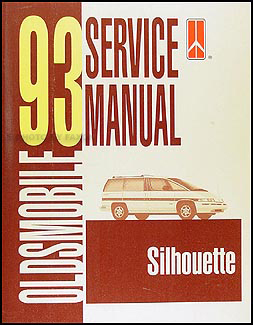 1993 Oldsmobile Silhouette Van Repair Manual Original