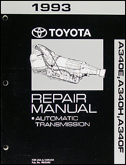 1993 Toyota 4Runner and Truck Automatic Transmission Overhaul Manual