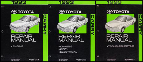 Toyota A540E Automatic Transaxle Repair Shop Manual 1993 ...
