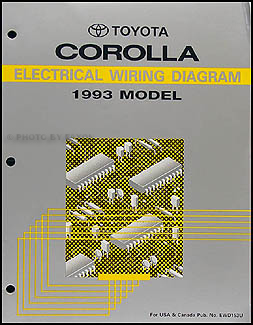 1993 Toyota Corolla 4 Speed Automatic Transmission Repair Shop Manual