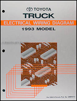Miraculous 1993 Toyota Pickup Truck Wiring Diagram Manual Original Wiring 101 Capemaxxcnl
