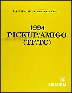 1994-1995 Isuzu Pickup and Amigo Electrical Troubleshooting Manual