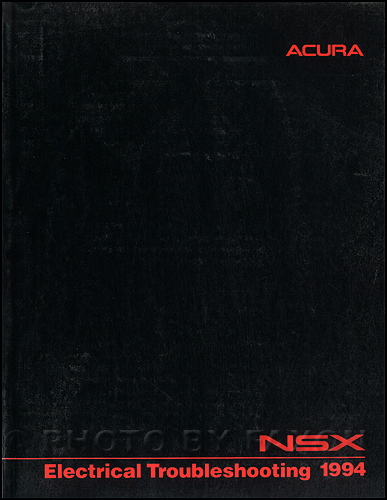 1994 Acura NSX Electrical Troubleshooting Manual Original