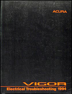 1994 Acura Vigor Electrical Troubleshooting Manual Original