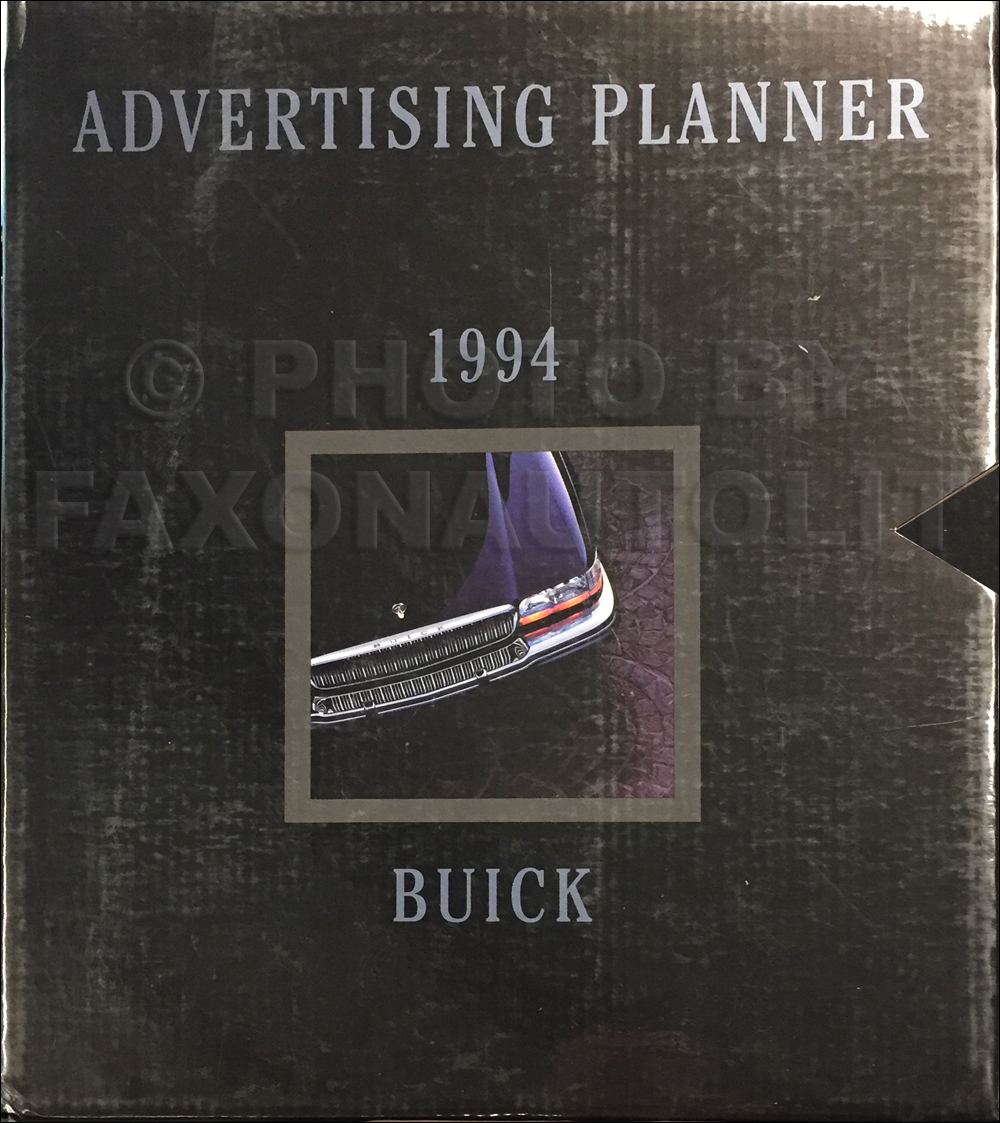 1994 Buick Dealer Advertising Planner Original