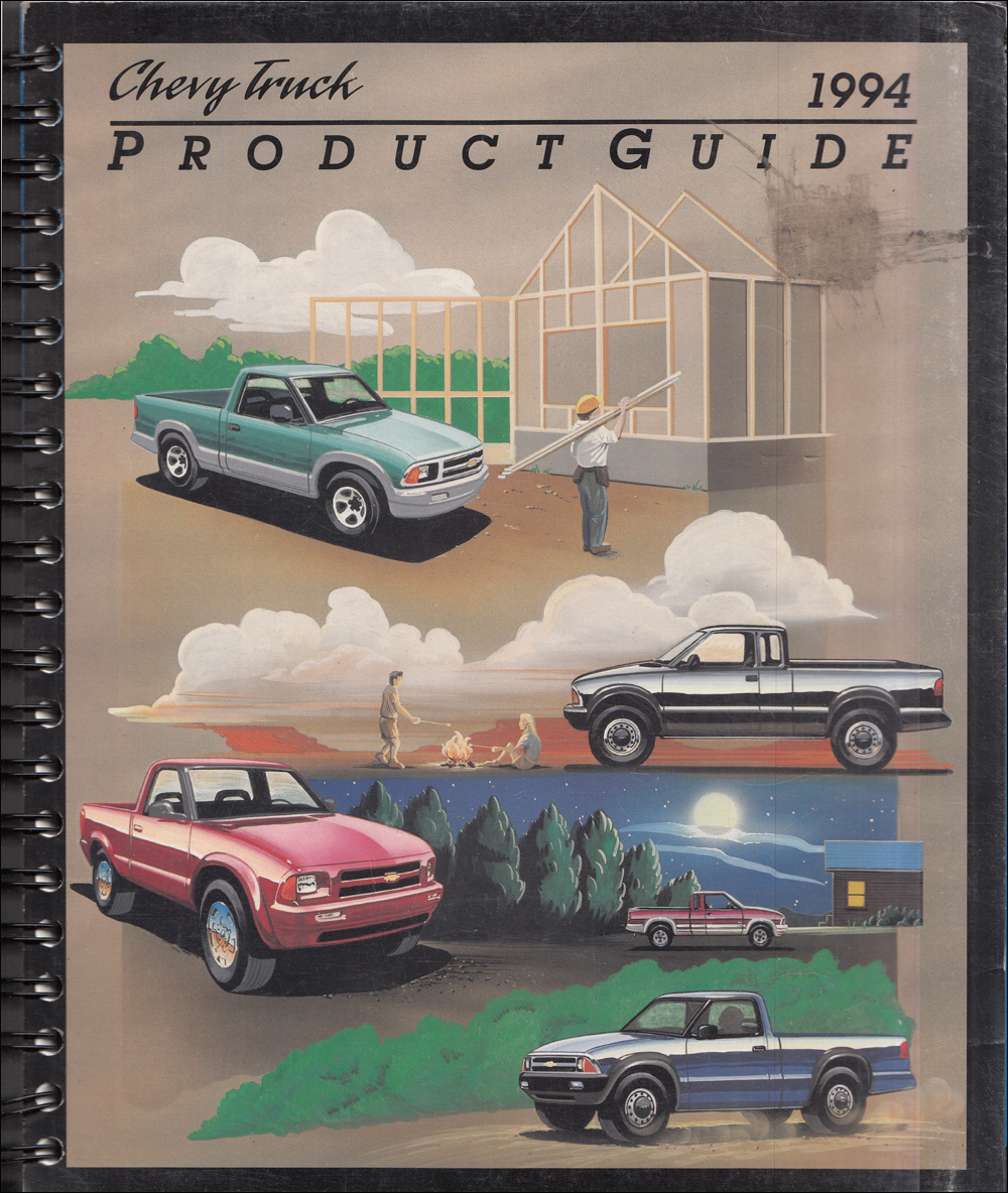 1994 Chevrolet Truck Data Book Dealer Album Original