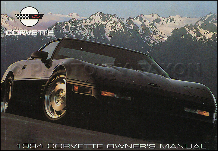 1994 Corvette Owner's Manual Original