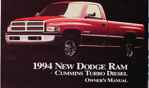 1992 dodge cummins repair manual