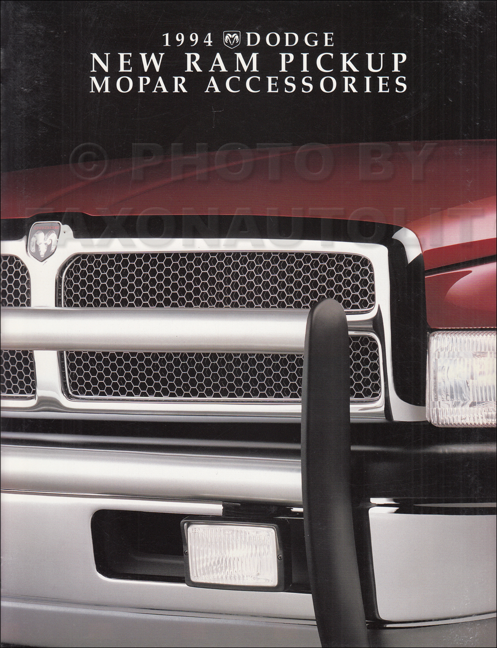 1994 Dodge Ram Pickup Accessory Facts Book Original EARLY