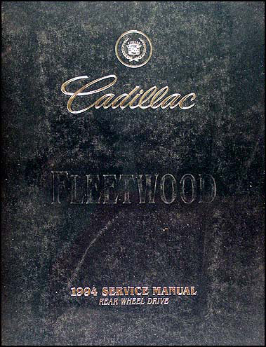 1994 Cadillac Fleetwood Brougham Repair Shop Manual Original