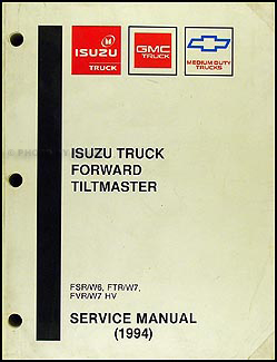 1994 FSR, W6, FTR, W7, FVR, W7 HV Repair Manual Original