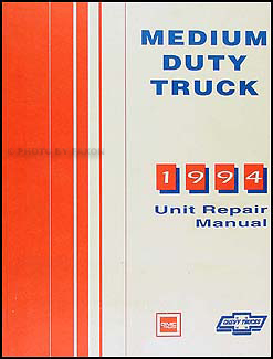 1994 Chevy GMC Medium Truck Unit Repair Shop Manual Topkick Kodiak B7 P6